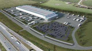 Hermes Parcelnet Omega Warrington distribution hub